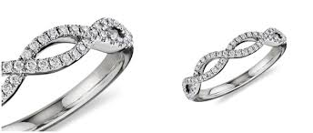 Infinity Wedding Rings by Platinum Wedding Rings From Blue Nile What U0027s Your Wedding Band