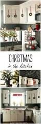 White Kitchen Decorating Ideas Photos Christmas In The Kitchen Christmas Kitchen Kitchens And Holidays