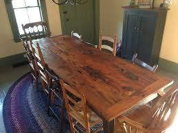 hand crafted farm or harvest table by strafford fine furniture