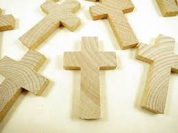 wood crosses 10 wood crosses 2 3 4 inch wood cross cross pendant