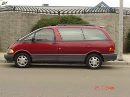 lady in the red cars pinterest toyota previa toyota