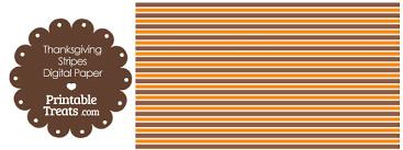 thanksgiving stripes digital scrapbook paper printable treats
