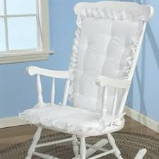 Rocking Chair Pads For Nursery Babydoll Bedding Eyelet Rocking Chair Cushion Set