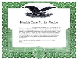 pledge cards template pledge certificate template images templates example free download