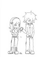 coloring download cute anime couples coloring pages cute anime