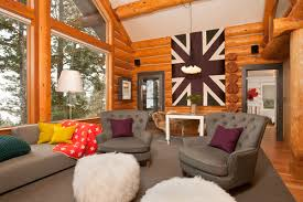 Log Home Decor Ideas Contemporary Log Home Decorating Ideas Styles And Tips