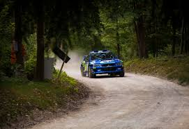2017 rally subaru driving the goodwood festival of speed hill climb in a 2016 subaru