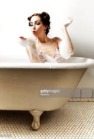 retro bathtub pinup stock photo getty images