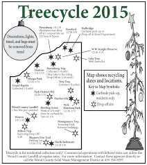 Perrysburg Ohio Map by Christmas Trees Www Recyclewoodcounty Org