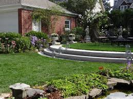 Landscaping Ideas For Sloped Backyard Attractive Sloping Backyard Landscaping Ideas Sloped Backyard