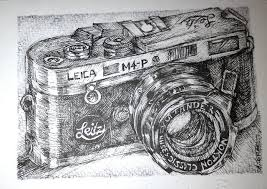 vintage leica camera drawing by nuthingoodatfour on deviantart