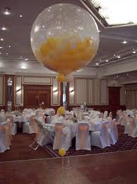 large balloons wedding decoration hire taunton solitaire homestead pew ends
