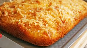 piña colada upside down cake recipe bettycrocker com