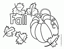 thanksgiving pumpkins coloring pages fall coloring sheet fall scarecrow and pumpkins coloring page