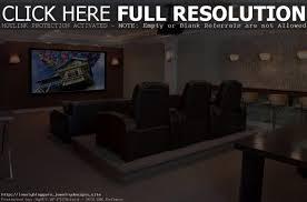 Home Theater Seating Ideas Basement Theater Seating Basement Decoration