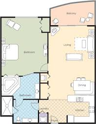 2 Bedroom Suites In Daytona Beach by Ocean Walk Wyndham Resort In Daytona Florida