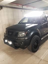 nissan frontier off road putco led luminix bars nissan frontier my truck pinterest