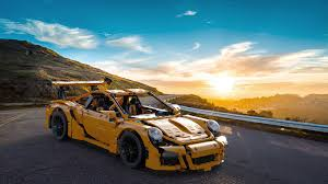technic porsche 911 gt3 rs technic porsche 911 gt3 rs 42056 3d cad model library