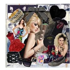 80s jewelry and accessories 80 s rock n roll fashions polyvore