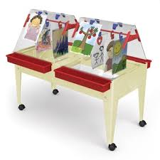 tall sand and water table childbrite youth mobil sand and water activity center easel 24
