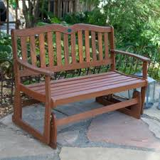 Wood Outdoor Bench Outdoor Gliders On Hayneedle U2013 Porch Gliders Patio Gliders For Sale
