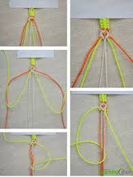 bracelet instructions string images How to weave a knotted friendship bracelet with 3 strings jpg