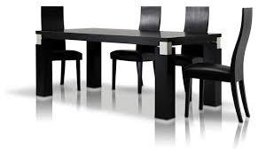 black contemporary dining table amazing black dining table intended for vig furniture escape 71 oak