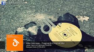 Decimal House Mike Hennessy Fragments Original Mix Youtube