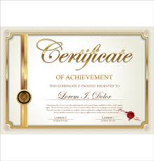 exquisite certificate frames with template vector free vector in