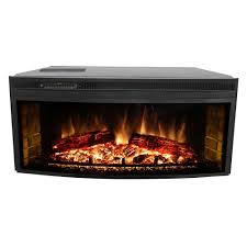 muskoka 43 in curved electric fireplace insert mfb42wsc the