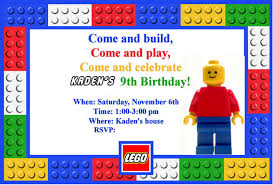 birthday invites unique lego birthday party invitations