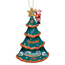 2009 annual miami dolphins ornament the danbury mint