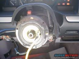 ford f150 airbag light replacement clock spring removal and installation ford bronco forum