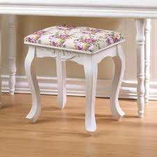 Shabby Chic Footstool by Best Shabby Chic Vanity Products On Wanelo