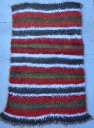 Kilim Rug Vintage Felt Kilim Rug 5 U00273 X 8 U00276