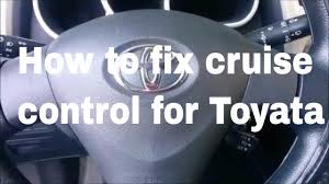 fix cruise control 2009 2014 toyota matrix youtube