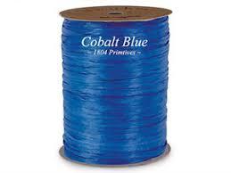 wraphia ribbon 300 100 yards cobalt blue wraphia raffia matte ribbon