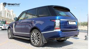 wrapped range rover autobiography galleri wrapstyle sweden stockholm premium car wrap car foil
