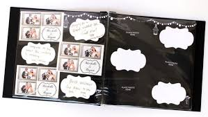 photo album pages 4x6 rustic chalkboard design photo booth album pages 4x6 paper cut