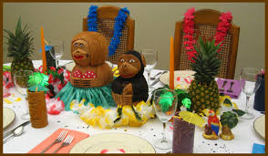 luau table centerpieces hawaiian luau centerpiece dinner party decorations