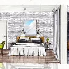 Bedroom Interior Design Sketches See This Instagram Photo By Zasstdesign U2022 3 025 Likes