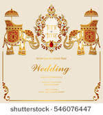 indian wedding card templates indian wedding card free vector 9599 free downloads