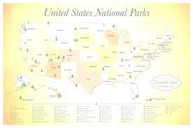Us National Parks Map National Park Maps Best Map Us Parks Evenakliyat Biz