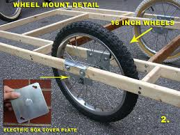 Teardrop Trailer Plans Free by Free Advice On How To Fix Your Bicycle Big Homebuilt El Cheapo