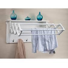 wall mounted coat rack danya b white wall mounted coat rack bq0734 the home depot