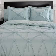 memento puckered aqua mist duvet cover bedding