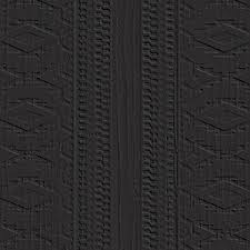 textures 6x9 inch contemporary floor tile black