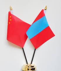 China Flags China U0026 Mongolia Friendship Table Flag