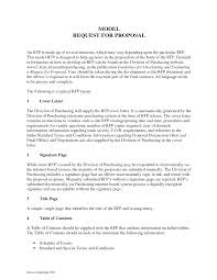 request for proposal response template 5 best u0026 professional