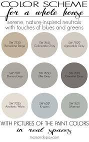 color schemes for home interior interior design colour scheme ideas best home design ideas